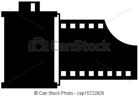 Vector Illustration of Camera film roll csp15722826.