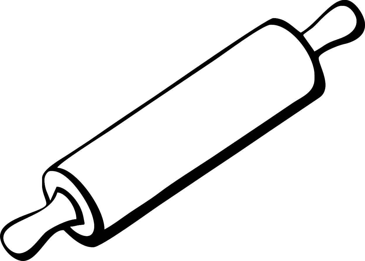 Rolling Pin Clipart.