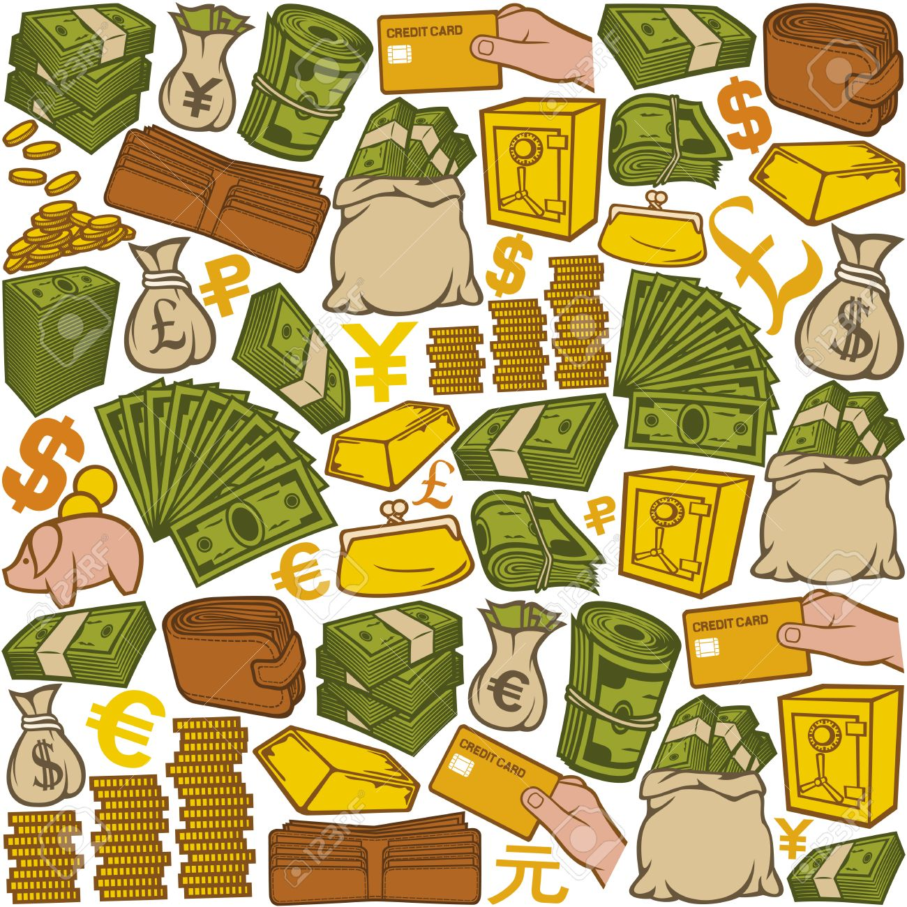 36+ Rolling In Money Clipart.