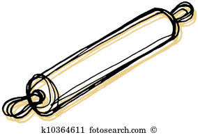 Rolling pin Stock Illustrations. 733 rolling pin clip art images.