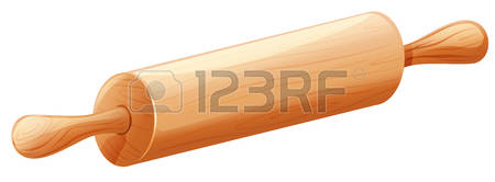 3,861 Rolling Pin Stock Vector Illustration And Royalty Free.