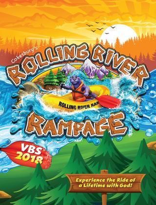 Cokesbury\'s Rolling River Rampage VBS 2018 Catalog by United.