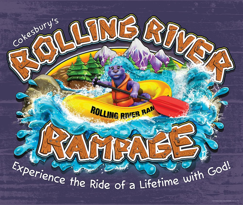 Vacation Bible School (VBS) 2018 Rolling River Rampage Large.