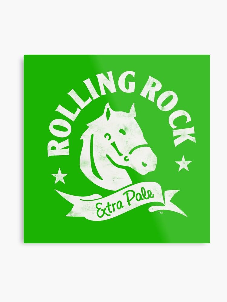 Rolling Rock Logo.