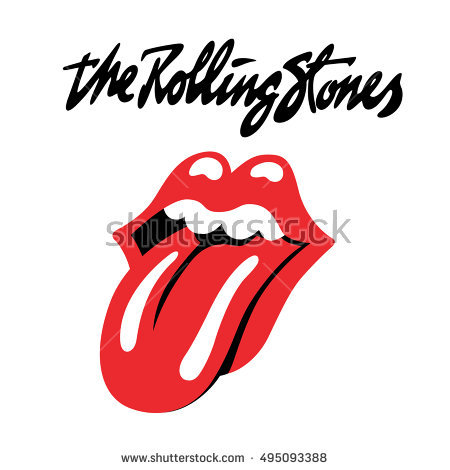Rolling Stones Stock Images, Royalty.