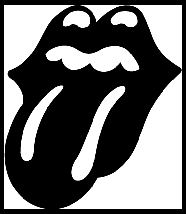 The Rolling Stones Tongue logos, free logo.