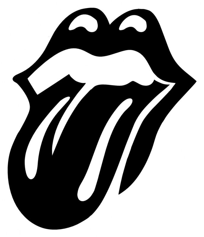 Stones clipart silhouette.
