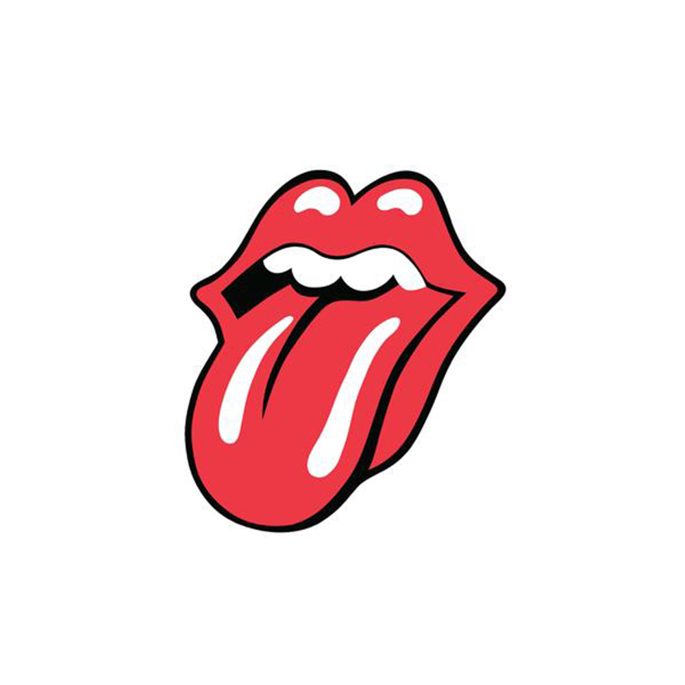 The Rolling Stones Tongue Logo 1971 Lithograph.