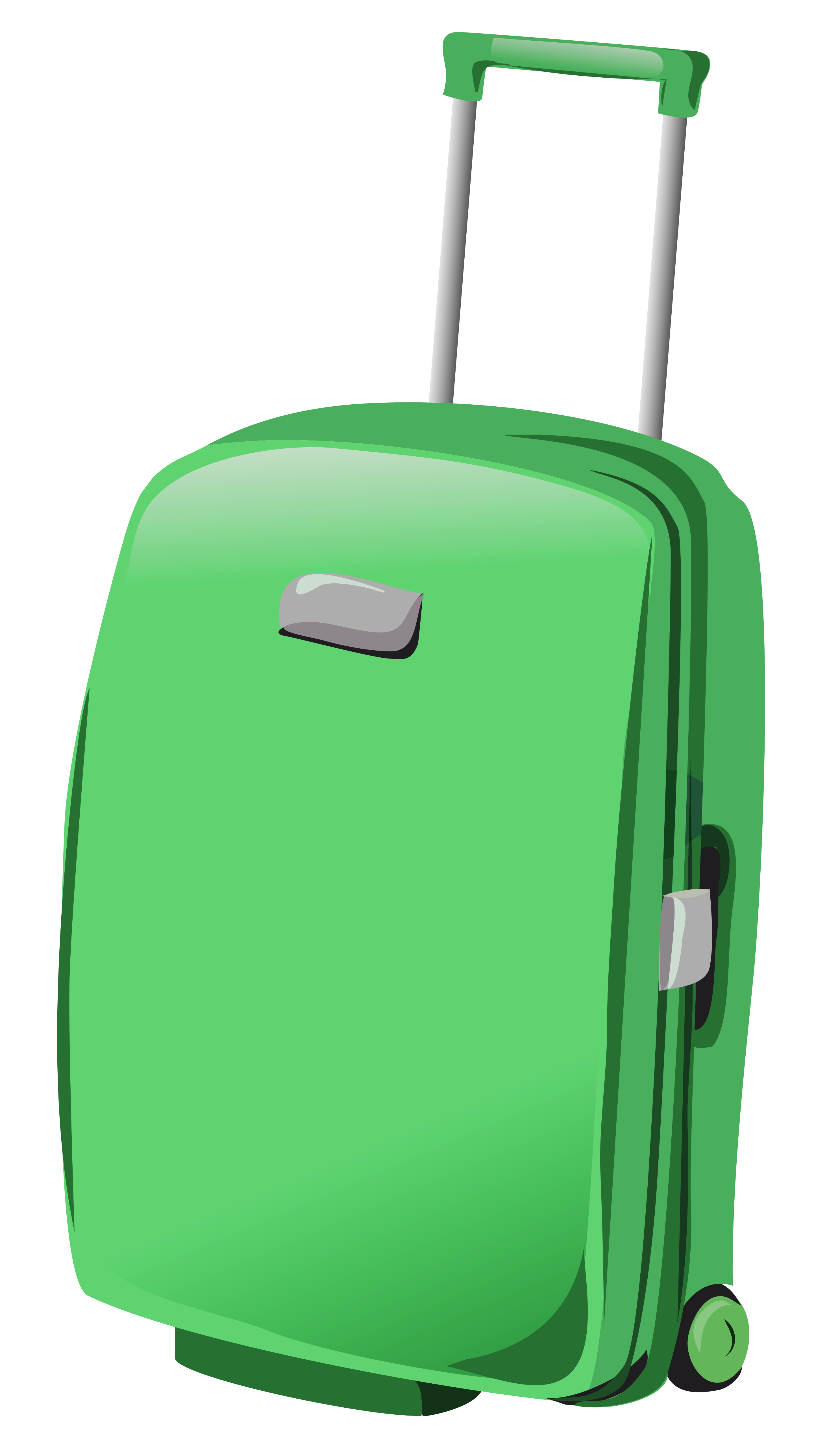 1685 Suitcase free clipart.
