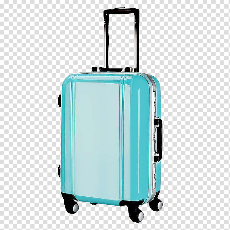 Hand luggage Suitcase Trolley, Smooth Blue Lake Trolley.