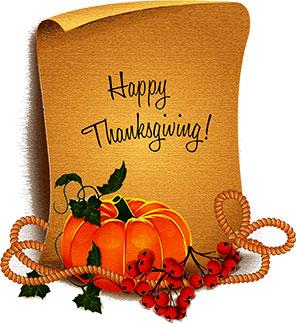 Free Thanksgiving Gifs.