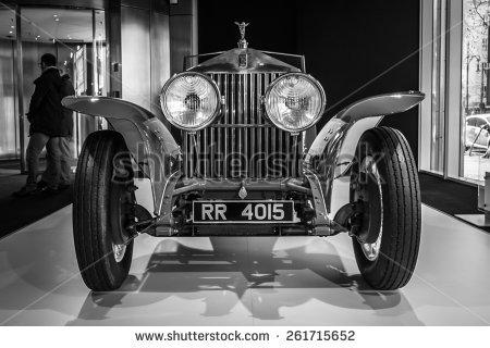 Vintage Rolls Royce Stock Photos, Royalty.