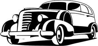 Vintage Rolls Royce Stock Illustrations.