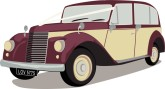 Wedding Car Clipart, Wedding Getaway Clipart, Wedding Vehicle.