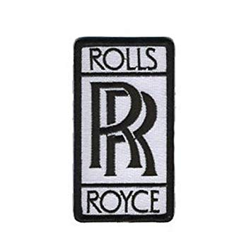 Amazon.com: Rolls Royce Phantom F1 Racing Logo EMBROIDERED.