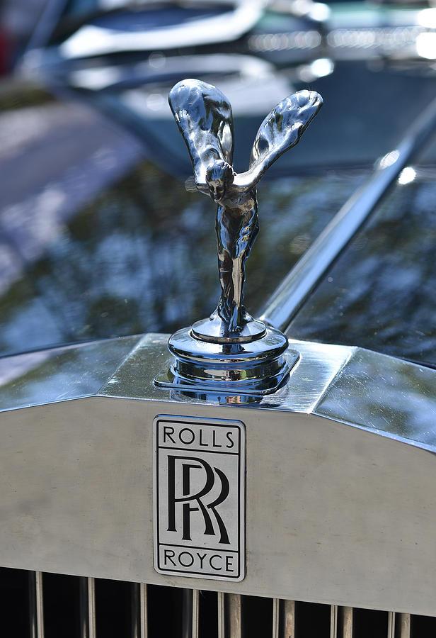 Old Rolls Royce Logo.