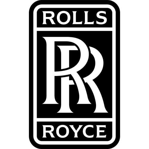Rolls Royce Decal Sticker.