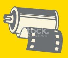Rolo DE Filme imagens vetoriais.