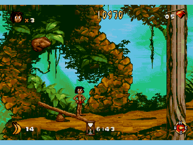 Jungle Book, The (USA) ROM < Genesis ROMs.