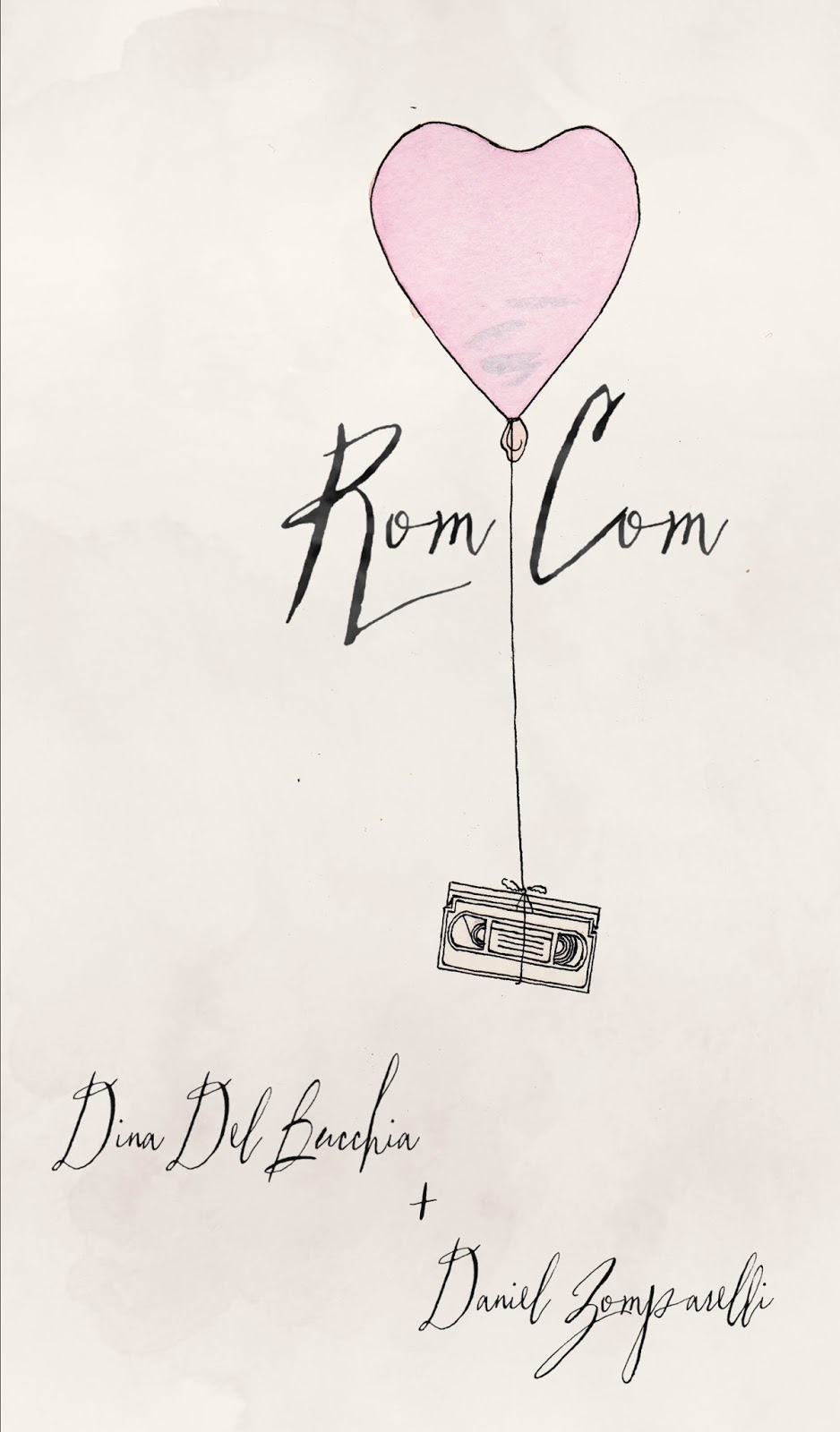 211 Bernard: TONIGHT!! Rom Com: a book launch with Daniel & Dina.