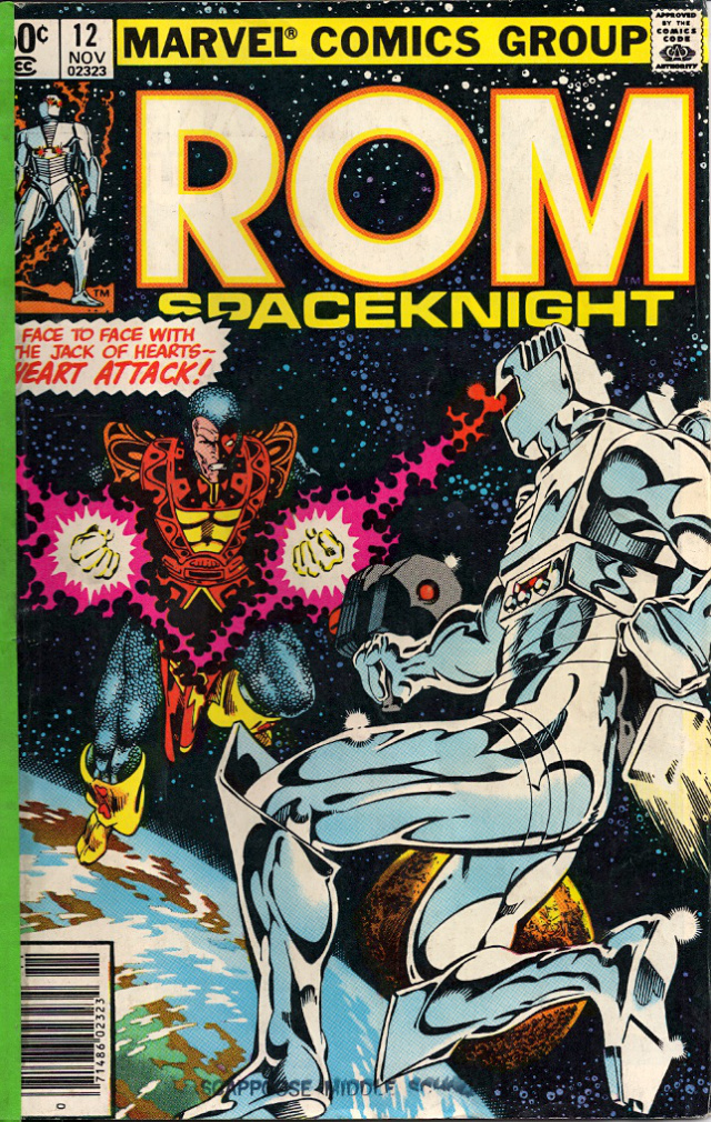 Not Marvel's Finest Moment: Rom Space Knight #12.