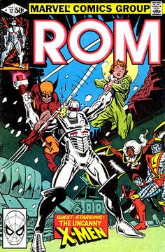 ROM Spaceknight #3 / Archie Stryker is used by Dire Wraiths.