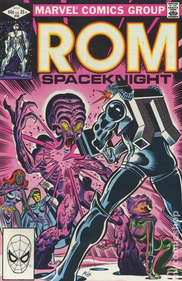Rom (1979) comic books.