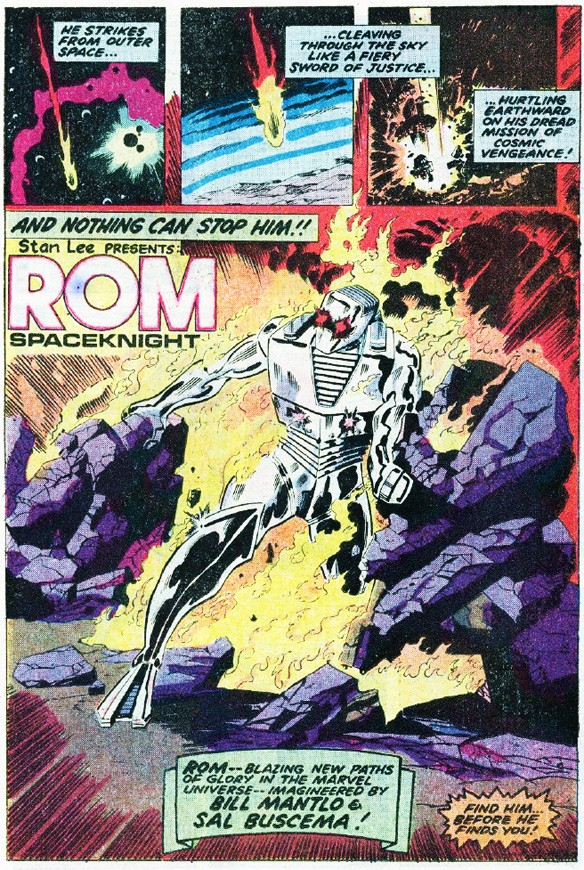 A Brief History of 'ROM: Spaceknight' in Marvel Comics.