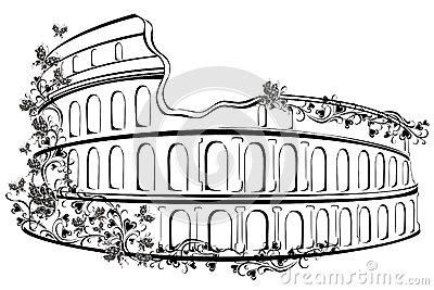 Antikes rom clipart.