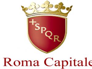 toglie la lupa dal logo di Roma Capitale.