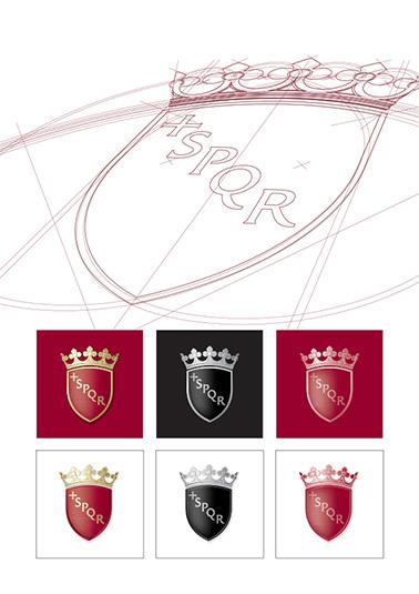 The Roma Capitale Logo.