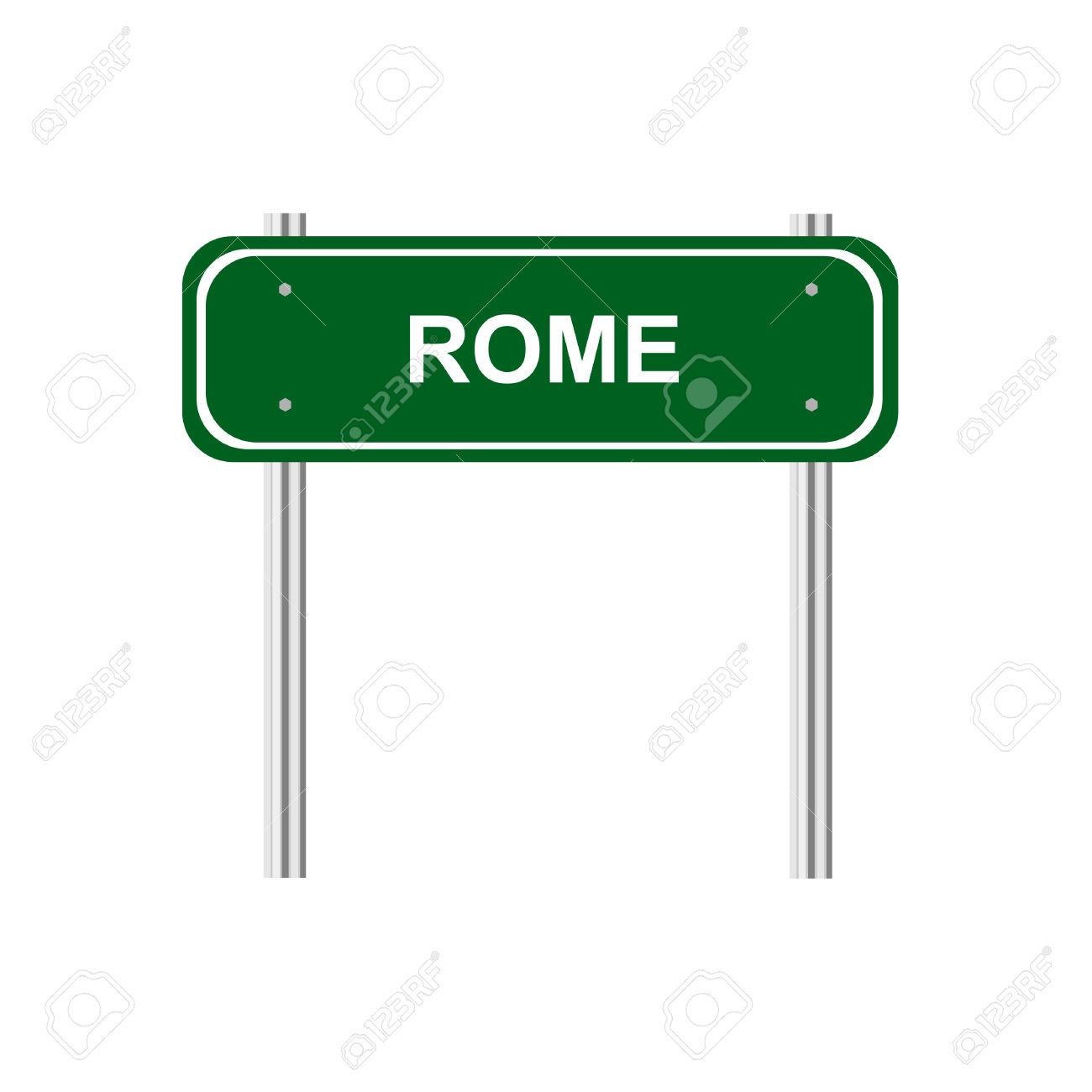 Iscriviti Roma Capitale Clipart Royalty.