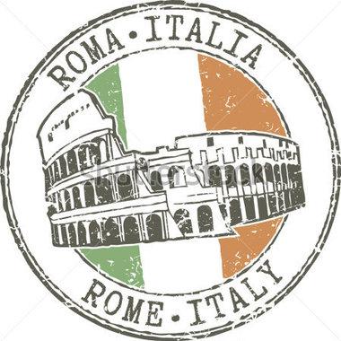 Rome Italy Clipart.
