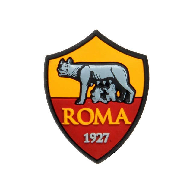 AS ROMA LOGO RUBBER MAGNET.