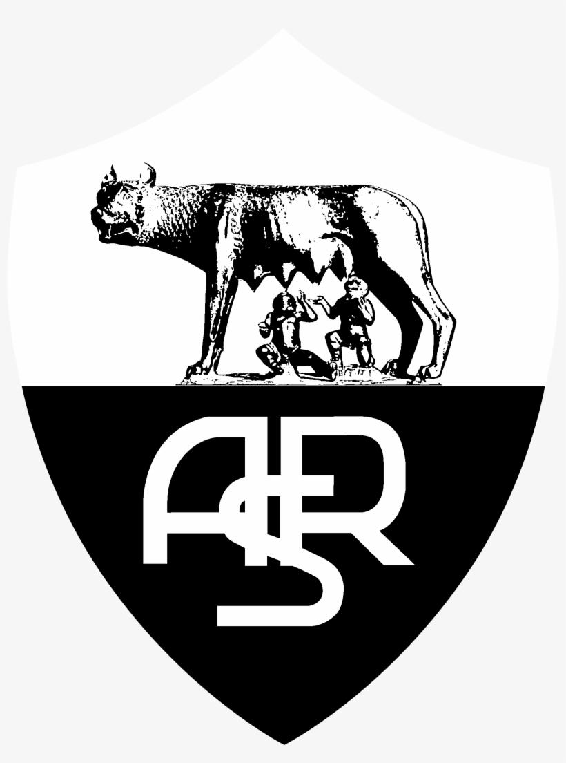 Roma Logo Black And White.