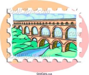 Aqueduct Clip Art.