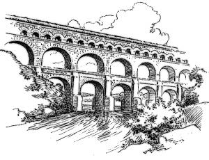 Aqueduct Clip Art Download.