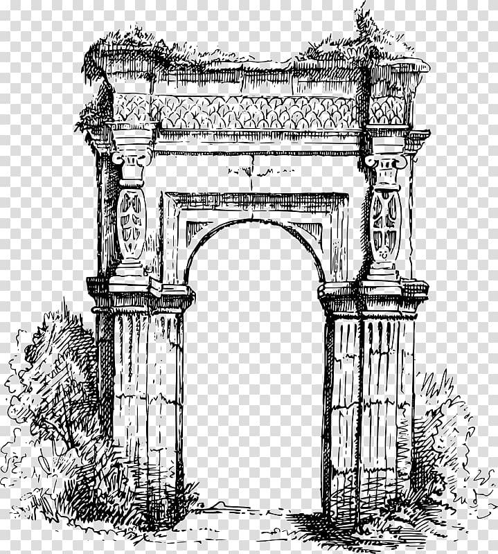 Ancient Roman architecture Column , column transparent.