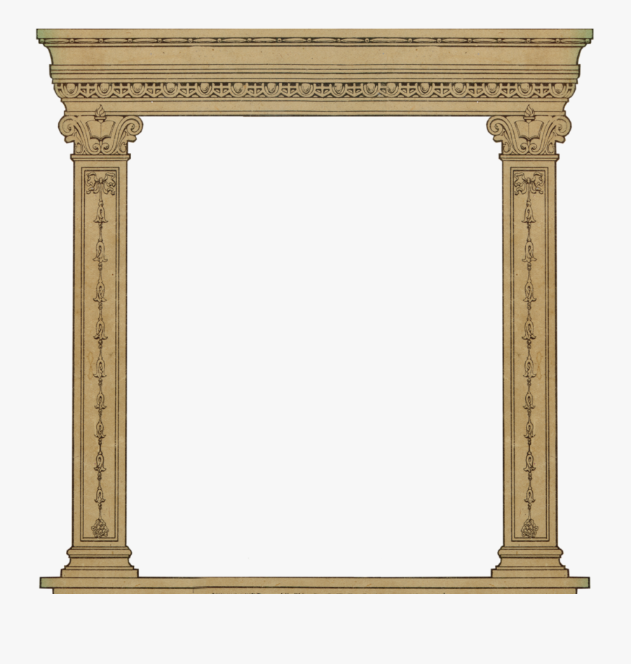 Column Clipart Roman Arch.