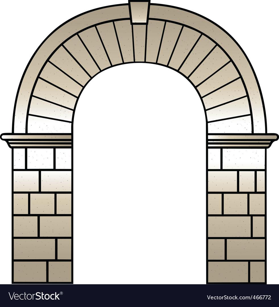 Roman archway.