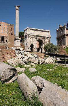 Ancient Rome Clip Art Set.