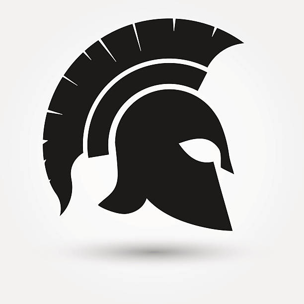 Roman Soldier Helmet Clipart.