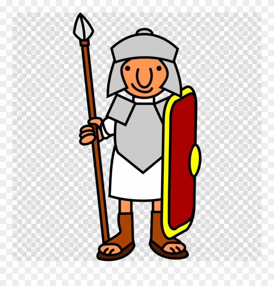 Cartoon Roman Soldier Clipart Ancient Rome Roman Army.