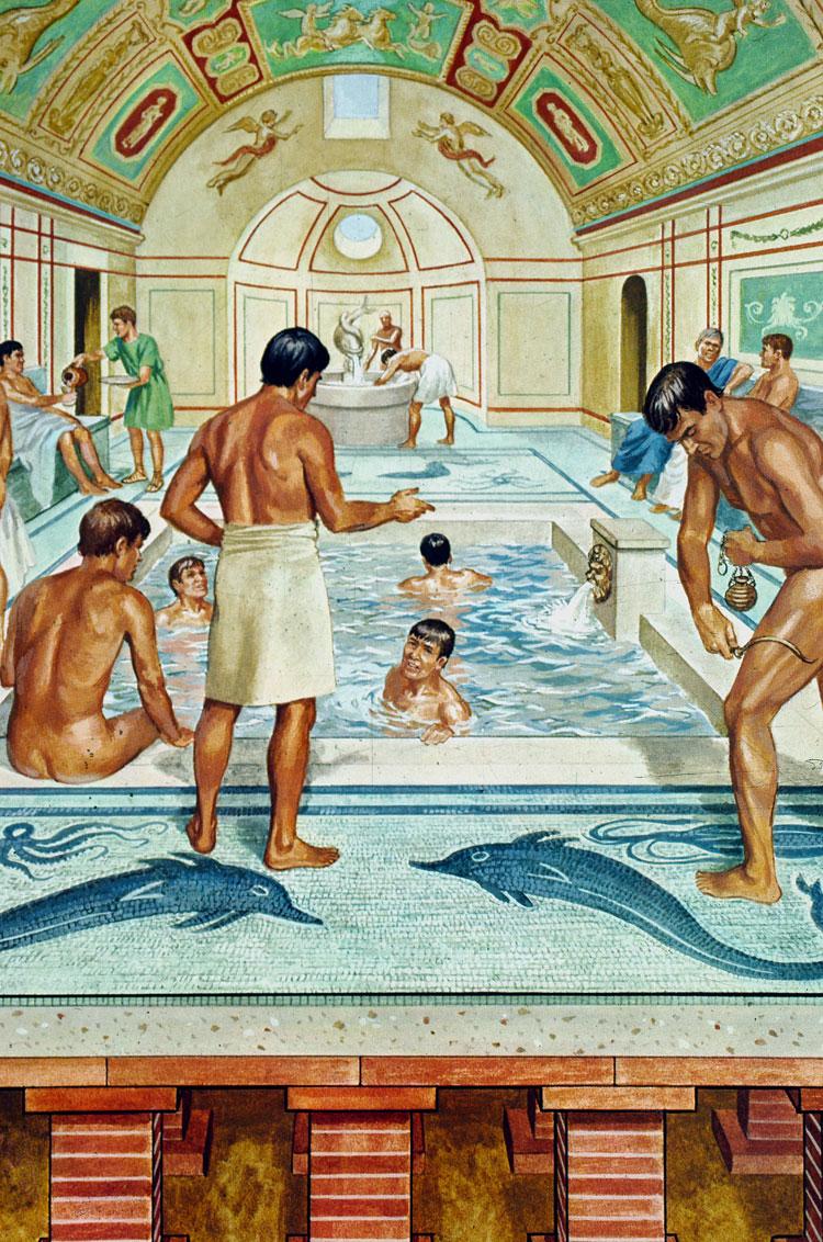 Roman bathroom