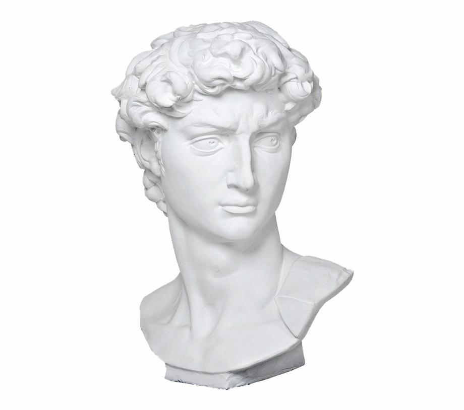 Vaporwave Png Roman Bust.
