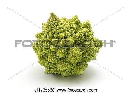 Pictures of Romanesco broccoli k11735568.