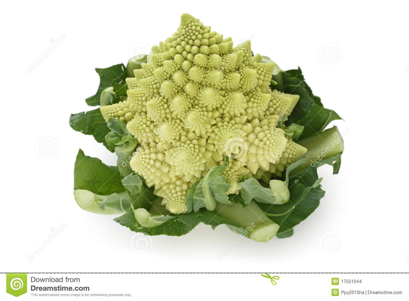 Romanesco Broccoli , Roman Cauliflower Stock Images.