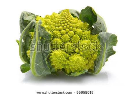 Roman Cauliflower Stock Photos, Royalty.