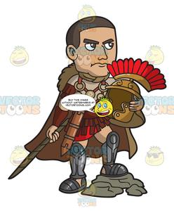 A Roman Centurion Commander.