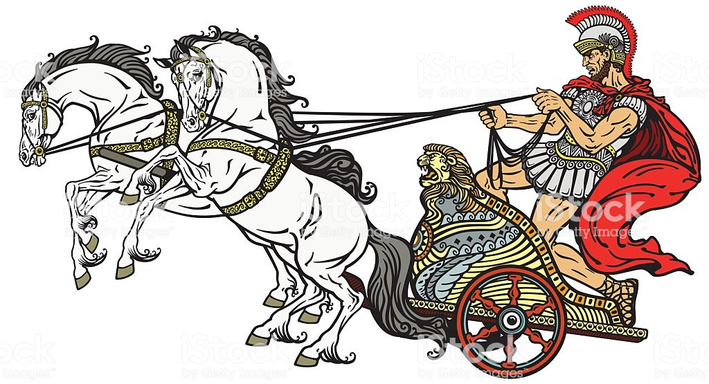 Roman chariot » Clipart Station.